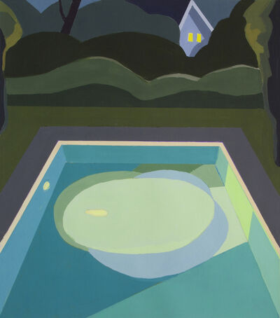 Monica Bernier, 'Night Pool II', 2018