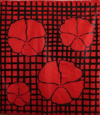 Jean-Michel Meurice, 'Grandes fleurs rouges d'Orénoque', 2018