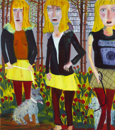 Martin Maloney, 'Saplings', 2004