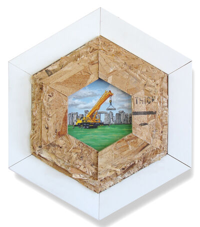 Peter Adamyan, 'Constructing Stonehenge', 2018