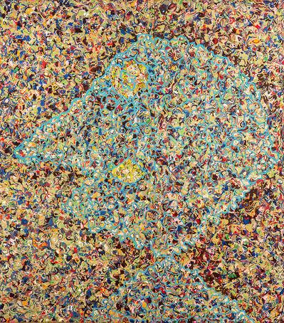 Enrico Baj, 'Jackson Pollock's portrait', 1969