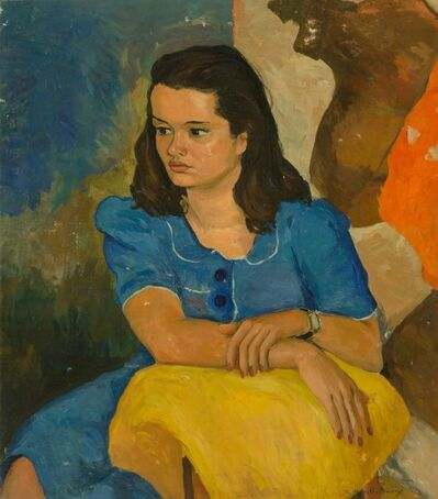 Angel Botello, 'Portrait of Consuelo Ulloa'