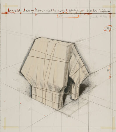 Christo, 'Wrapped Snoopy Doghouse, Project for the Charles M. Schulz Museum, Santa Rosa, California', 2004-05