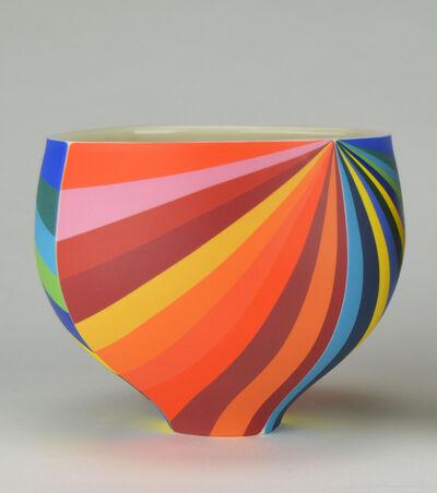 Peter Pincus, 'Four Panel Pinwheel Bowl B', 2020