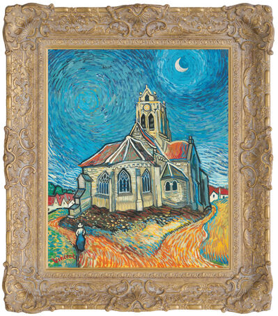 John Myatt, 'The Church at Auvers - In The Style of Vincent Van Gogh', 2017