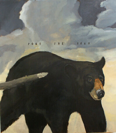 Robert McCauley, 'POKE THE BEAR', 2020