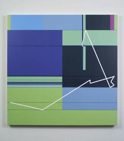 Manfred Mohr, 'P1611_10', 2012