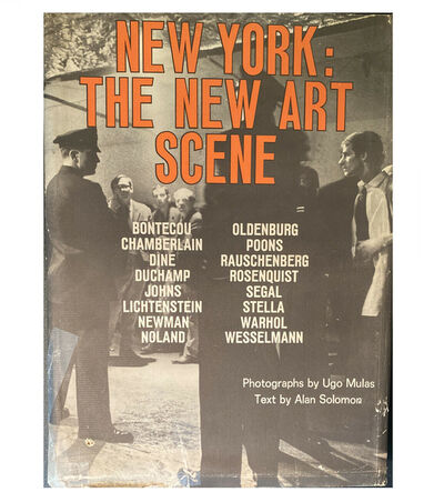 "Andy Warhol, '""New York: The New Art Scene"", First Edition, First Printing by Ugo Mulas & Alan Solomon, ', 1967"