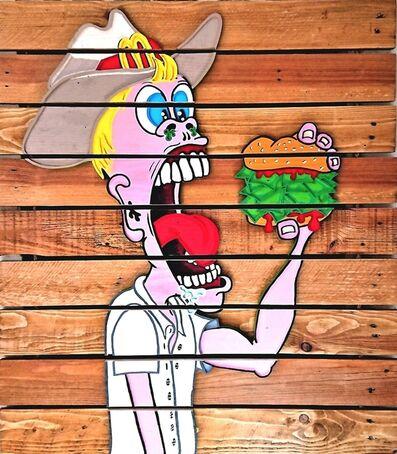 Yann Cosruer, 'Veggie Burger', 2018
