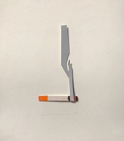 Tom Wesselmann, 'Smoking Cigarette', 1998