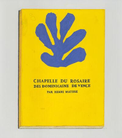 Richard Baker, 'Henri Matisse: Chapelle du Rosaire', 2019