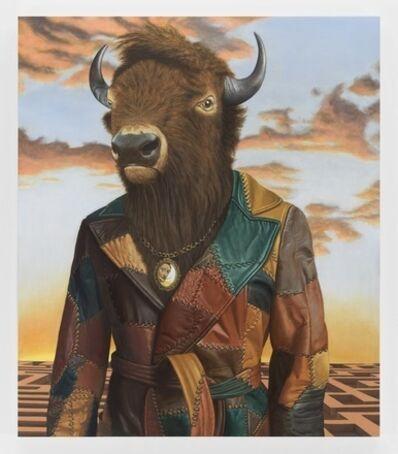 Sean Landers, 'Buffalo Minotaur', 2017