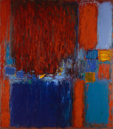 Martyn Brewster, 'Parkwood (Red & Blue)', 1993