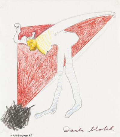 Kurt Hüpfner, 'Dark match', 1982