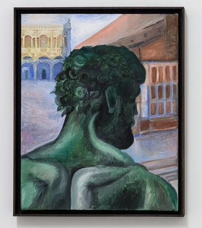 Giovanni Copelli, 'Studio di Testa (Nettuno), olio su tela, 40x50 cm, 2020', 2020