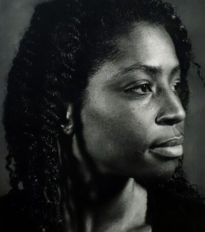 Chuck Close, 'Lorna Simpson', 2002
