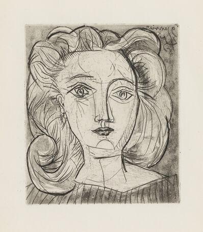Pablo Picasso, 'Tête de Femme (Françoise)', January 9-1945