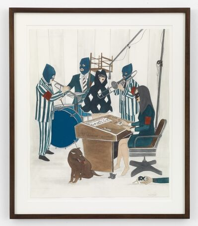 Marcel Dzama, 'That famous blue raincoat', 2014