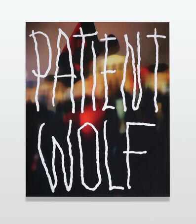 Jonathan Paul (aka Desire Obtain Cherish), 'Patient Wolf', 2017