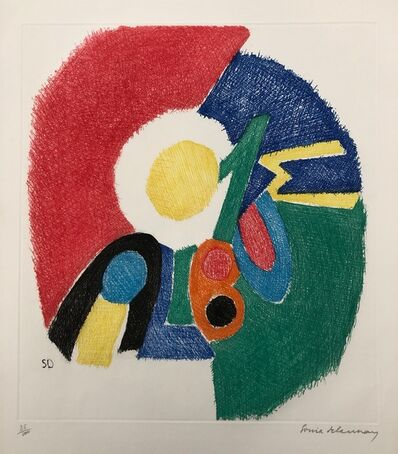 Sonia Delaunay, 'Untitled (Composition)', 1966
