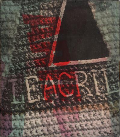 Mimmo Rotella, 'Leacril', 1967
