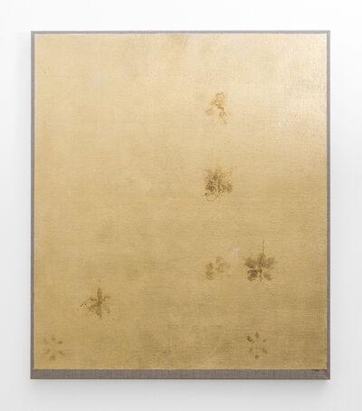 Pierre Vermeulen, '7 | 48 orchid sweat print on white', 2018