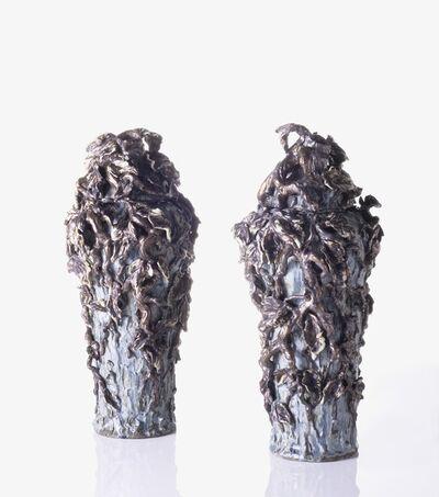 Matthew Solomon, 'Pair of Lidded Jars', 2010