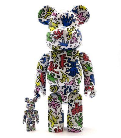 Keith Haring, 'Version #1 Medicom 400% & 100% Be@rbrick Set', 2017