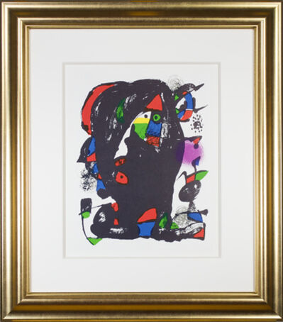 """Joan Miró, 'Lithographie Originale IV from """"Miro Lithographs IV, Maeght Publisher""""', 1975"""