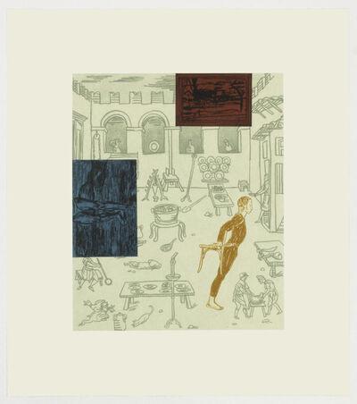Michael Krueger, 'Interiors 1. (Cezanne's legs)', 2018