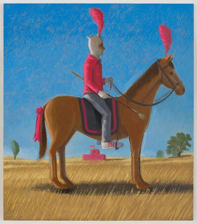 Vonn Cummings Sumner, 'Sock Hat Horseback', 2016