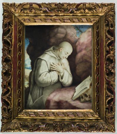 Simon Demasso, 'Saint Bruno at Prayer', 1701