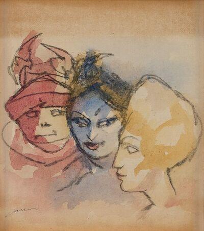 Mino Maccari, 'Figure femminili'