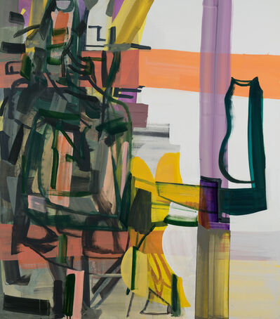 Amy Sillman, 'The Dark Space of Speech', 2018