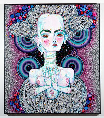 Del Kathryn Barton, 'angel dribble', 2016