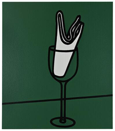 Patrick Caulfield, 'Her handkerchief swept me along the Rhine', 1973