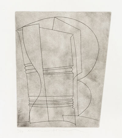 Ben Nicholson, 'Still Life with Curves', 1965