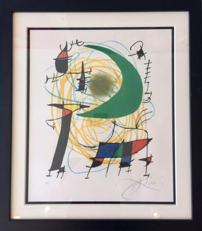 Joan Miró, 'Untitled(Signed Lithograph)', 1970-1975