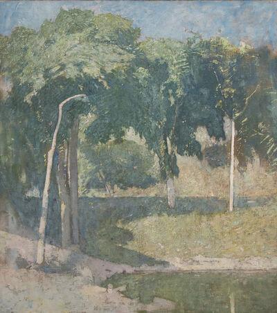 Soren Emil Carlsen, 'Lakeside', ca. 1908