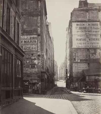 Charles Marville, 'Rue Saint-Jacques', 1864-before February 1867