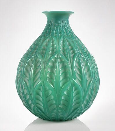 """René Lalique, '""""Malesherbes"""" Vase, Marcilhac No. 1014'"""