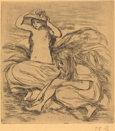 Pierre-Auguste Renoir, 'The Two Bathers (Les deux baigneuses)', 1895