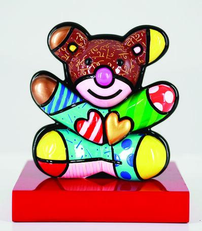 Romero Britto, 'Friendship Bear'
