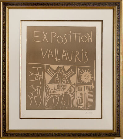 Pablo Picasso, 'Exposition Vallauris ', 1961