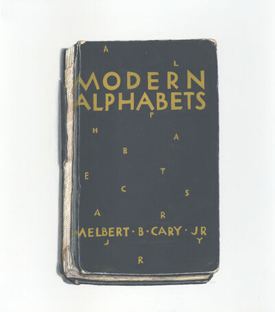 Richard Baker, 'Modern Alphabets', 2019