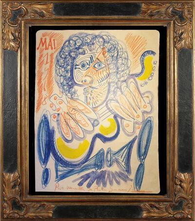 Pablo Picasso, 'Portrait of Manitas de Plata (May 1968)', 1968