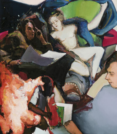 Andrius Zakarauskas, 'Reading brushstroke', 2018