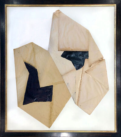 Jean-Pierre Bourquin, 'Untitled Folded Paper', 2018