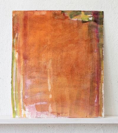 Peter Tollens, 'Grün Rot Orange auf Pink', 2018