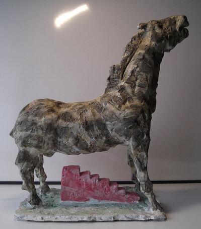 Markus Lüpertz, 'Trojanisches Pferd, 2016', 2016
